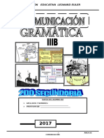 Gramática 2do Sec Iiib
