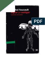 Foucault, M. Vigilar y Castigar
