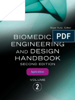 Biomedical Engineering and Design Handbook (Vol. 2)