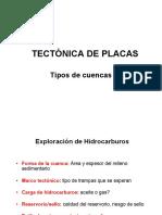 A)Tectónica de Placas - Cuencas