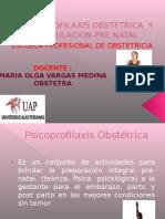 Psicoprofilaxis Obstetrica y Estimulacion Pre Natal Clase i (1)