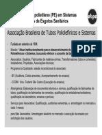 Aplicação do polietileno em Sistemas de Abastecimento de Água.pdf