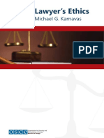Lawyer's Ethisc - Michael G. Karnavas - OSCE Publication