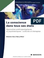 La Conscience Dans Tous Ses États - Elsevier Masson
