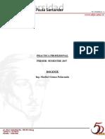 Procedimiento General Practica I- 2017