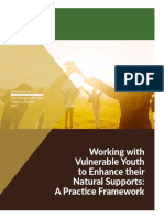 2017 Vulnerable Youth Natural Supports Framework