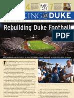 Working@Duke - August, 2010
