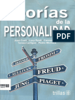 Teorias de La Personalidad Jose Cueli Lucy Reidl Carmen Marti Teresa Lartigue Pedro Michaca