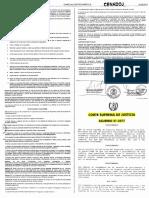 Acuerdo CSJ 21-2017 Modifica El Ac 56-2012