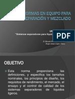 Expo eq. de separacion