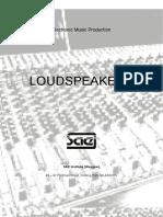 SAE Institute - Loudspeakers