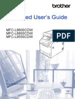 MFC-L8850CDW Advanced User Guide