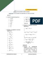 Ecuaciones Logaritmicas 2017-1