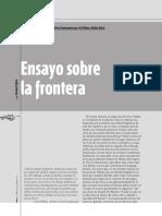 foffani--Ensayos sobre la frontera+enLUCERA