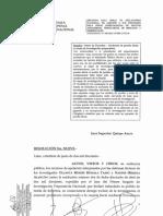 Resolución Segunda Sala Penal de Apelaciones Nacional sobre apelación que solicitó anular agendas de Nadine Heredia como prueba