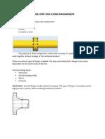 Flange Joint and Flange Management