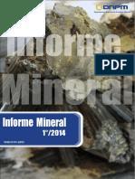 Informe Mineral- 2014