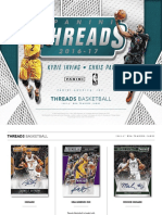 Panini Threads Basketball 2016-17