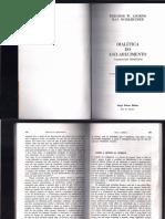 Adorno - A Gênese Da Burrice