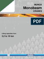 Monobeam Cranes