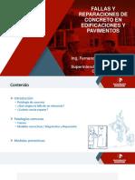1-Fallas y Reparaciones - Edificaciones y Pavimentos