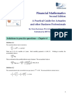 FM Textbook Solutions Chapter 4 Second Edition