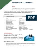 La empresa y su entorno +organizacion