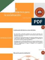 Lección 2.8 Enfoque Didáctico Para La Socialización