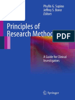 Phyllis G. Supino EdD (Auth.), Phyllis G. Supino, Jeffrey S. Borer (Eds.)-Principles of Research Methodology_ a Guide for Clinical Investigators-Springer-Verlag New York (2012)