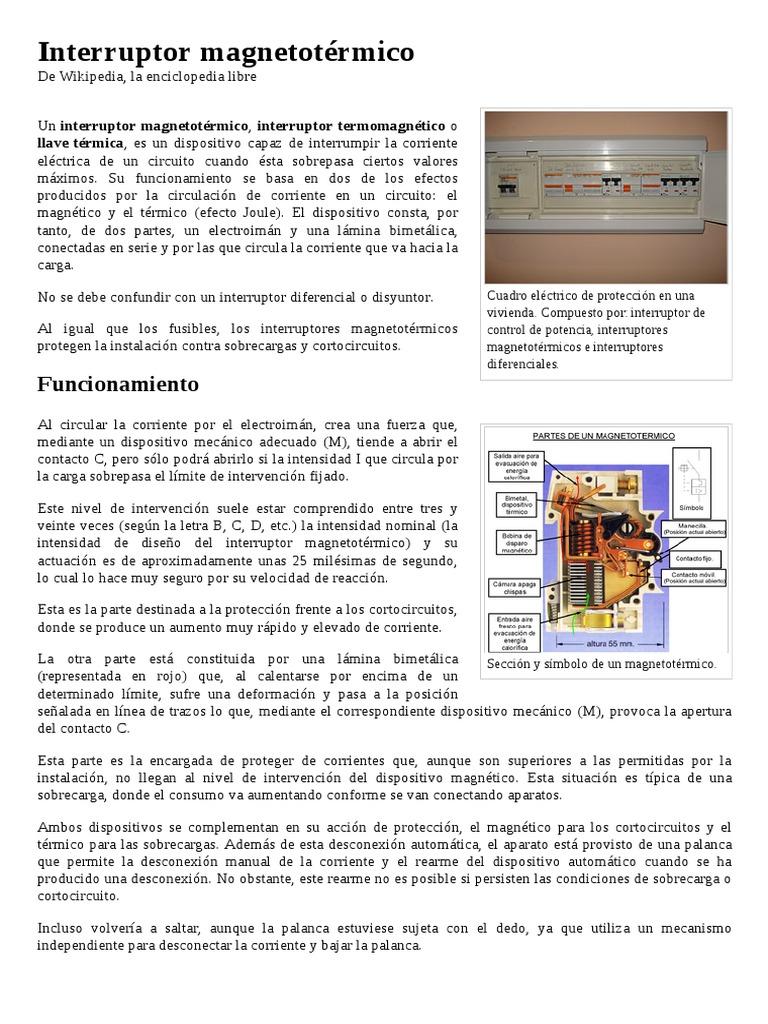 Interruptor_magnetotérmico