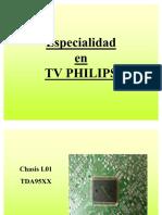 L03 y L01 de Televisores Philips Training