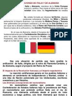 Unificaciones Italianas y Alemanas