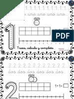 Coleccion de Fichas Para Trabajar Los Numeros Del 1 Al 30-1-10