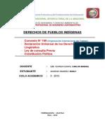 Caratula de Derecho Pueblos Indigenas - IAI (II CICLO) - Copia