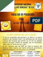 03. EyMA. La Luz y El Clima