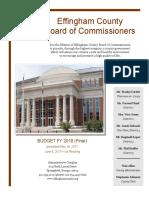 2018 Budget Final