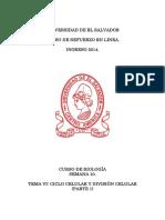 Semana 10 - Ciclo celular y División celular (Parte I).pdf