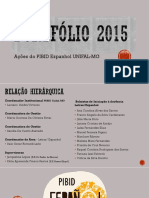 PORTFÓLIO - PIBID/Espanhol 2015