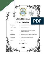 Trabajo Internacional Publico - Actos Normativos de Las Organizaciones Internacionales