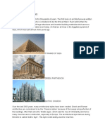 Ancient Styles of Architecture