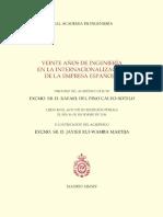 Rafael del Pino Calvo-Sotelo_Veinte Años de Ingeniería en la Internacionalización de la Empresa Española