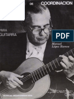 LÓPEZ, M. - Ejercicios de Coordinación Para Guitarra