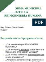 La Reforma Municipal Pendiente