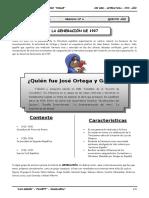 5to. Año - LIT - Guía 6 - La Generación de 1927.doc