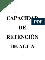 Trabajo de Analisis Capacidad de Retencion de Agua Nuevoooooooooooooo