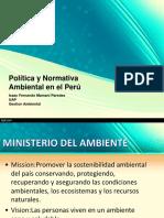 Politica Ambiental Peru