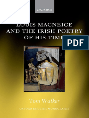 Walker Macneice And The Irish Poetry Of His Time Irish