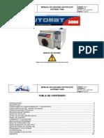 M-21 Manual de Usuario Autoclave Automat 3000