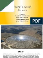 Energía Solar Termica