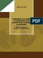 16 Problematica de la nulidad y la impugnacion de los acuerdos de las sociedades y asociaciones.pdf